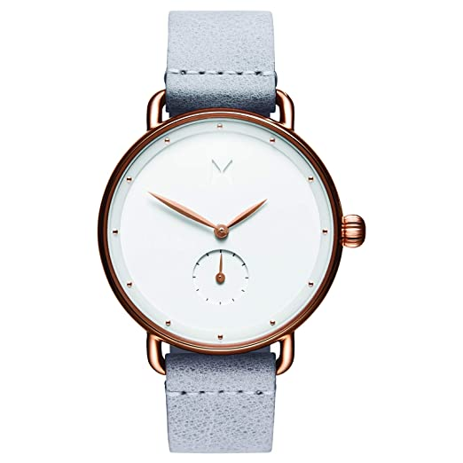 MVMT Bloom Watches | 36MM Women's Analog Minimalist Watch | Ghost Iris best minimalist watches for women