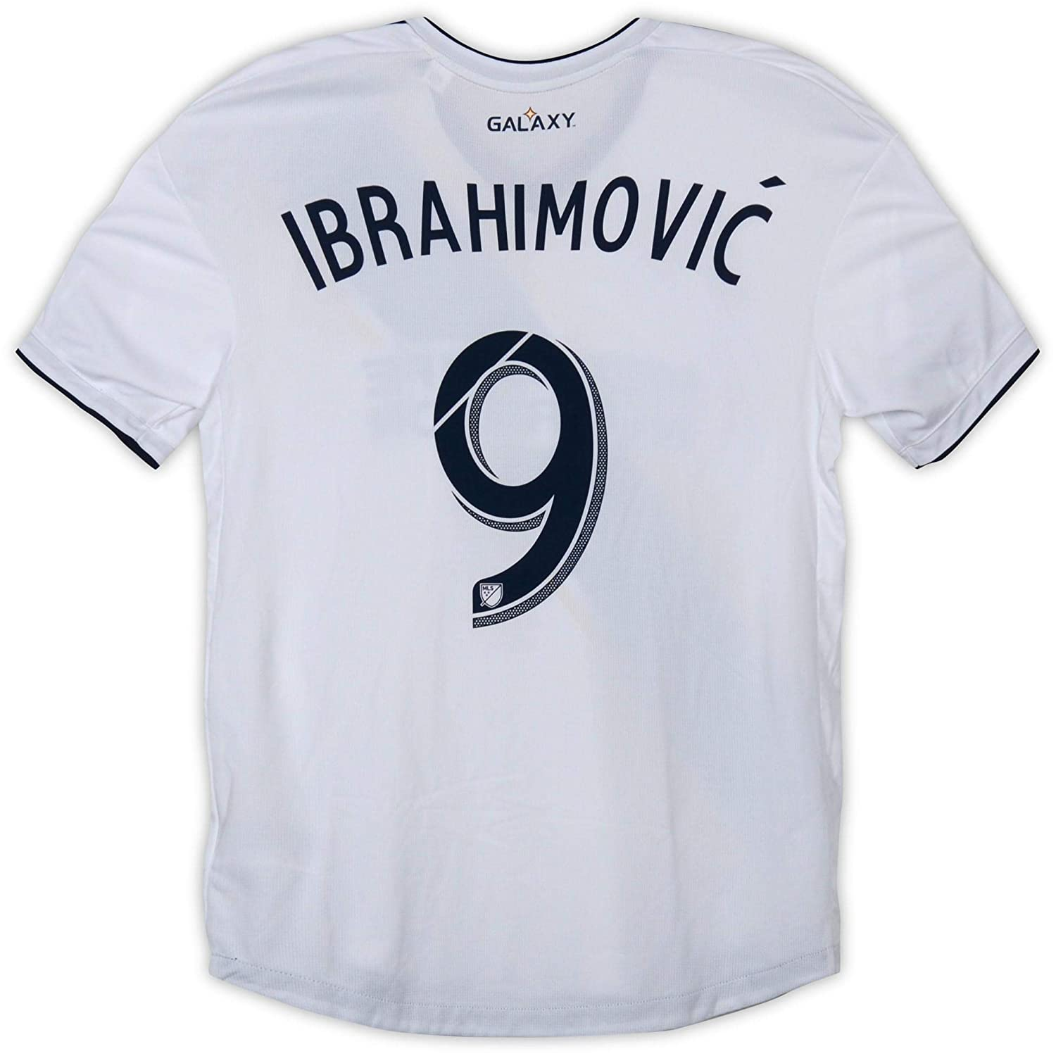 timeless design b5380 33c02 Zlatan Ibrahimovic LA Galaxy Autographed Event-Worn #9 White ...