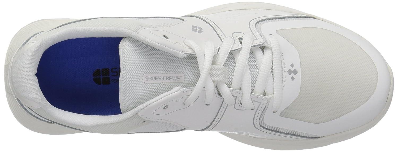 Shoes For Crews Women's Falcon II Slip Resistant Food Service Work Sneaker B07BHJBFF9 9 B(M) US|White