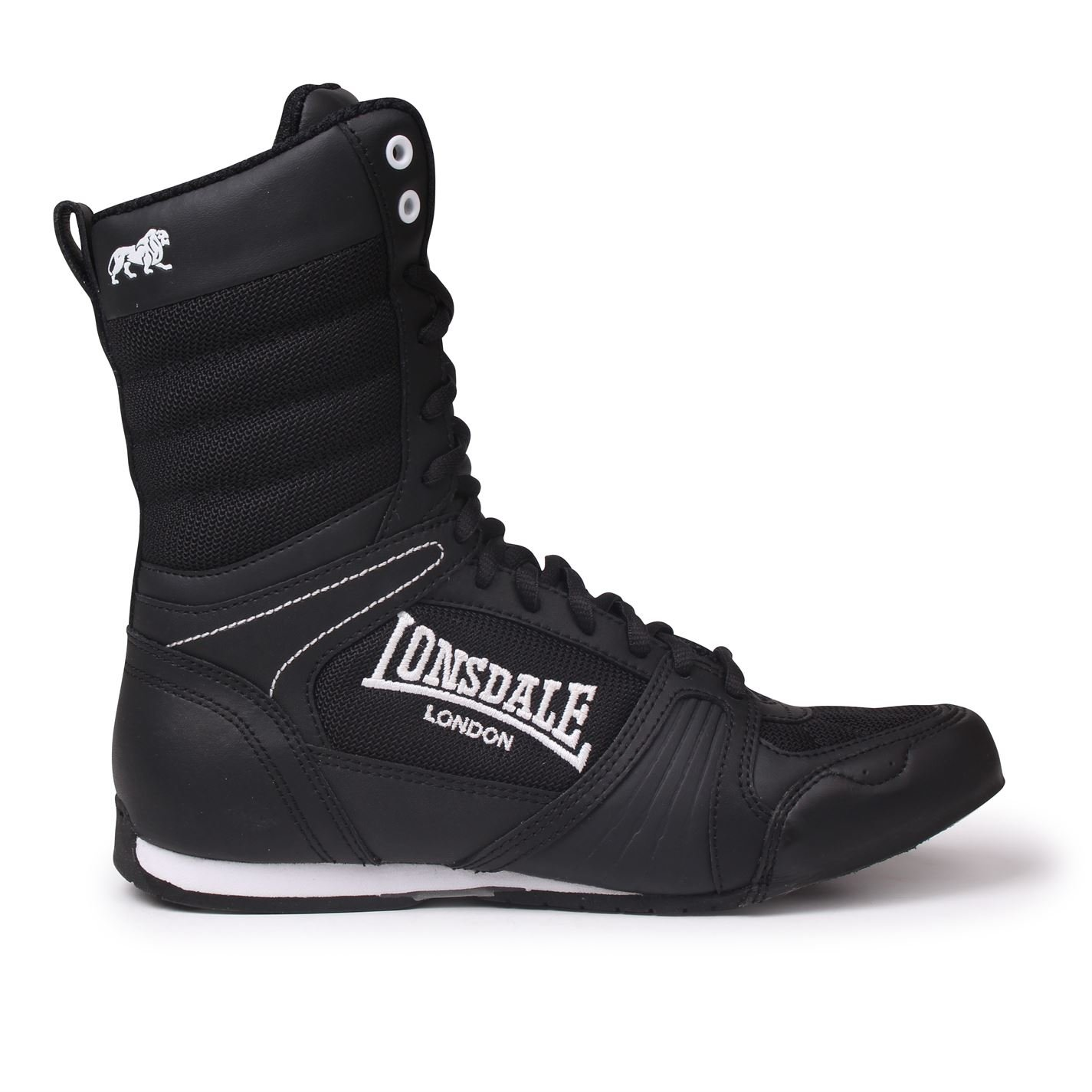 Lonsdale Contender High Junior Boys Boxing Boots