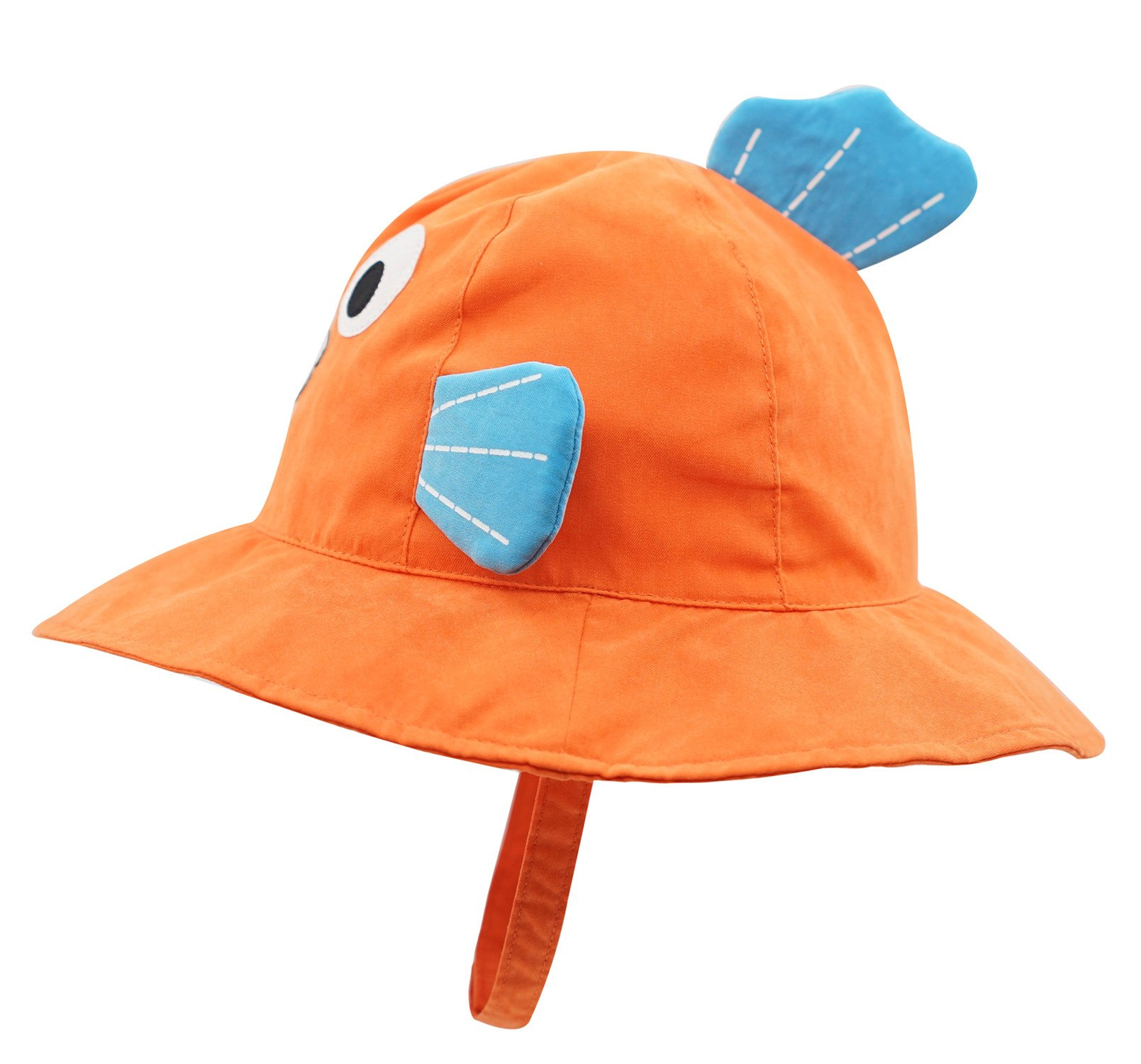 Connectyle Baby Infant Toddler Kids' UPF 50+ Sun Protection Hat Cute Cartoon Bucket Sun Hats by Connectyle (Image #2)