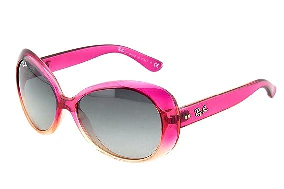 50f2343ed9140 RAY BAN JUNIOR - 9048S - Lunettes de soleil Femme - rose  Amazon.fr ...