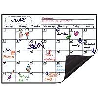 Levoit Magnetic Calendar Planner for Fridge 40x30cm, Reusable Monthly Fridge Calendar, Undated Planning Board Pad, Dry…