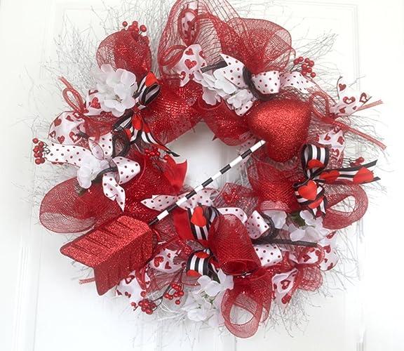 Amazon Extra Large Valentine Wreath For Front Door Cupids