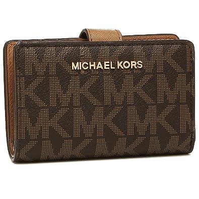 wholesale dealer 56f70 5bc32 Amazon | [マイケルコース] 二つ折り財布 アウトレット ...
