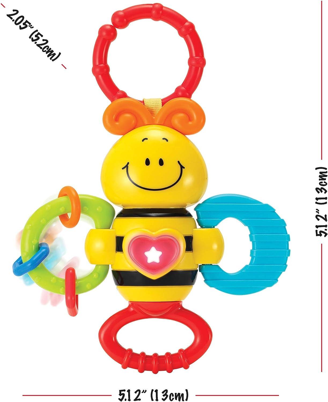 Tomaibaby 1 Unid Cuna de Beb/é Cama de Juguete Juguete Colgante Actividad Espiral Juguetes de Peluche Sonajero Juguete Asiento de Coche Juguete para Interior Hogar Interior