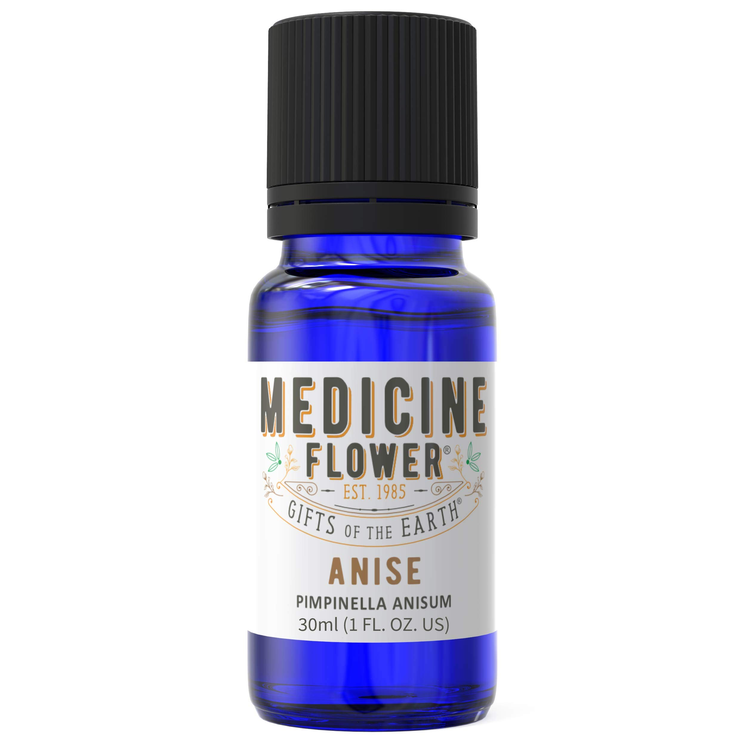 Medicine Flower Pure Anise Seed Oil, Premium Quality of Anise Seed Essential Oil (30ml, 1oz) by Medicine Flower