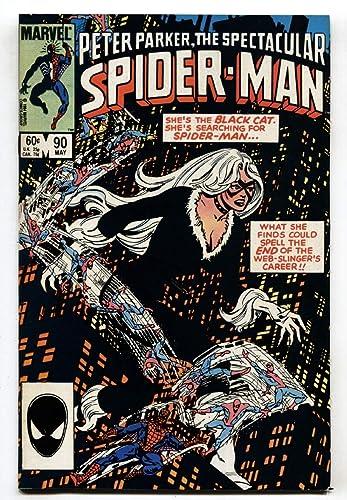 Amazon Com Spectacular Spider Man 90 1984 1st Black