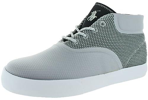 Polo Ralph Lauren Men's Vadik Sneaker, Grey, ...
