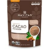 Navitas Organics Cacao Powder, 16 oz. Bags (Pack of 2)(packaging may vary)