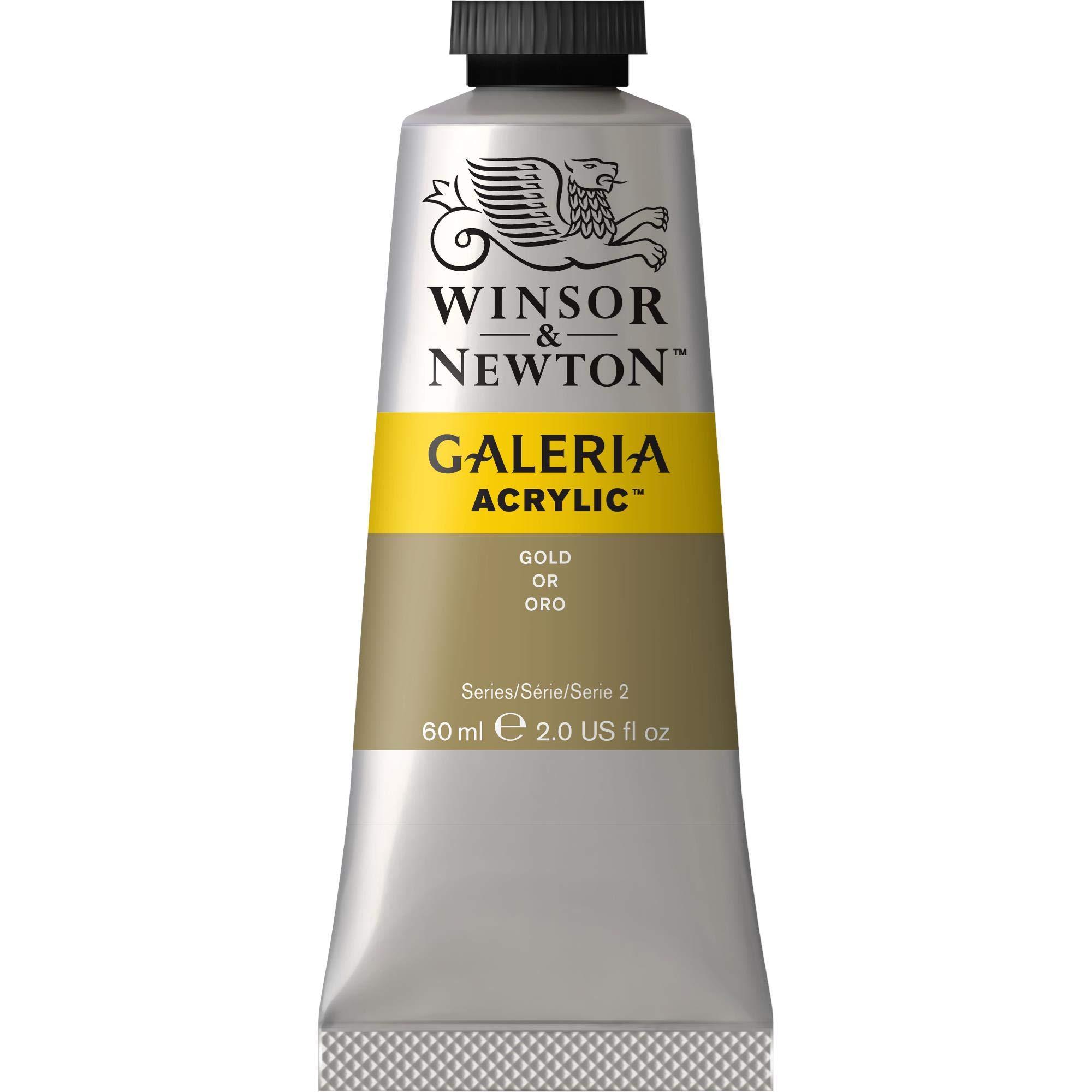 Winsor & Newton Galeria Acrylic Paint, 60-ml Tube, Gold