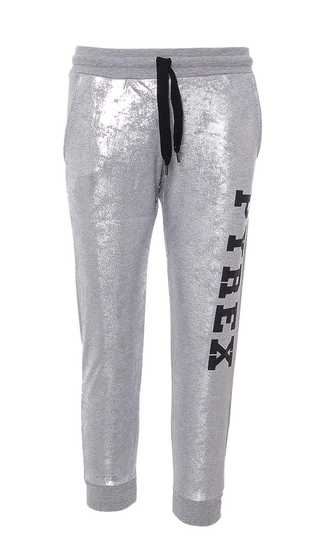 Pantalone tuta donna Pirex argento