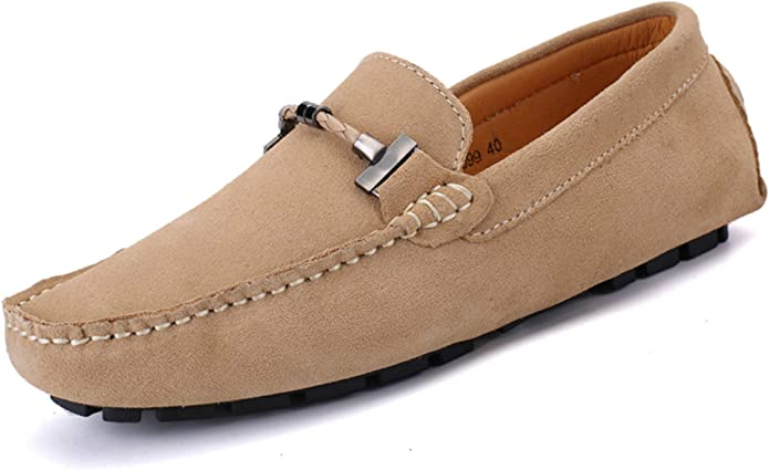 Bruno Marc Mens 3251314 Penny Flats Slip On Light Casual Loafers Moccasin Shoes