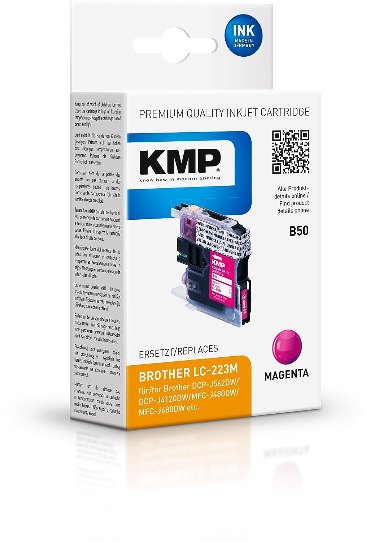 KMP B52 12ml 1200páginas Cian cartucho de tinta - Cartucho ...