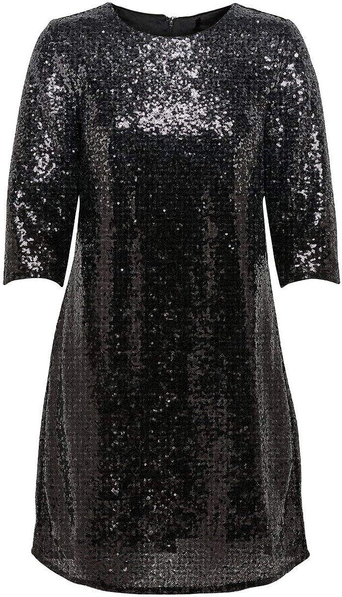 ONLY Female Kleid Pailletten