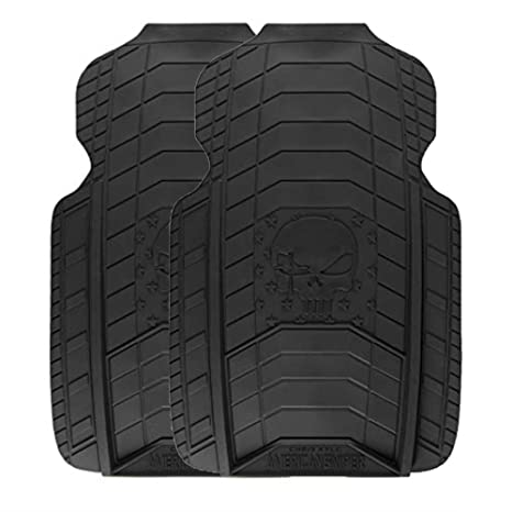 Chris Kyle American Sniper | Front Floor Mats, All Black, 2 Pack