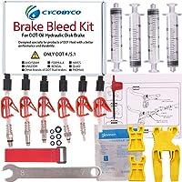 Cycobyco - kit de purge d'huile de frein à disque pour VTT, outil de vélo pour Avid, SRAM, Dode, Juicy, Hope, Bngal, Hayes, Formula J3,J5,J7