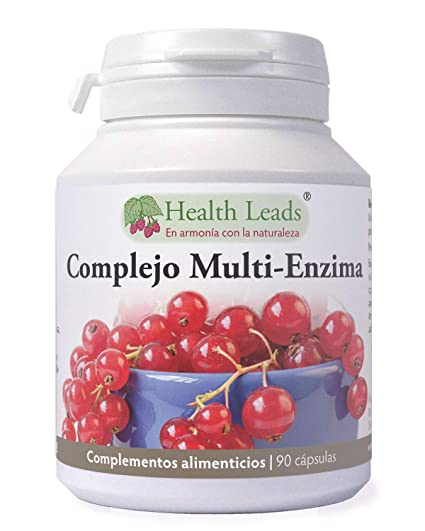 Complejo Multi-Enzima digestiva x 90 cápsulas Sin estearato ...