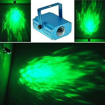 E-Plaza Portátil Mini LED Escenario Efecto Iluminación Agua Ola ...