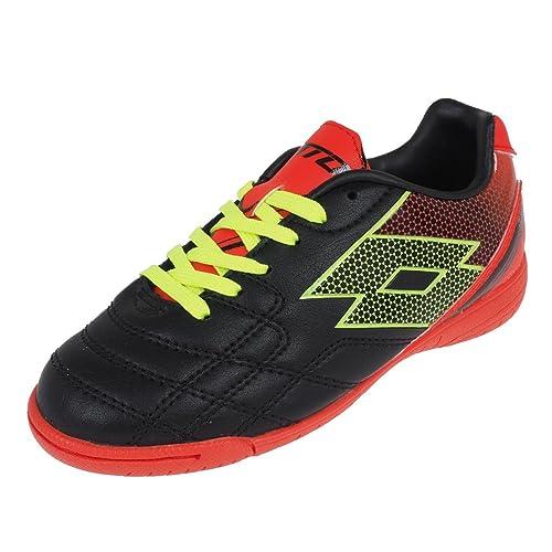 Lotto - Botas de fútbol de Piel para niño  Amazon.es  Zapatos y complementos fd5a2dea8b48b