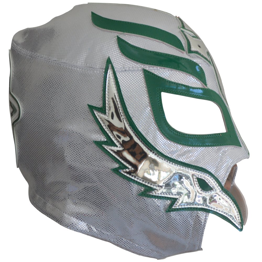 Amazon.com: Rey Mysterio Semi-Professional Lucha Libre Mask Adult Luchador Mask: Clothing