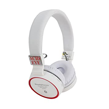 80b9f792d40 Buy Acid eye SH-10-WHITE Bluetooth Headphone With FM and Calling Online at  Low Prices in India - Amazon.in