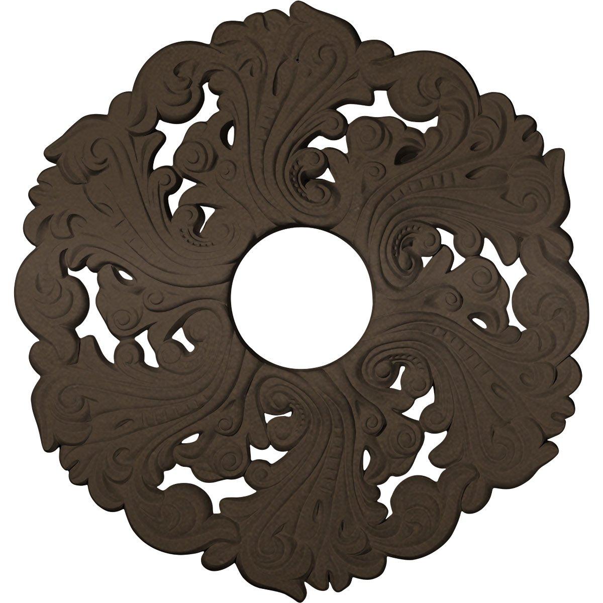 Ekena Millwork CM19ORBZS Orrington Ceiling Medallion, Bronze