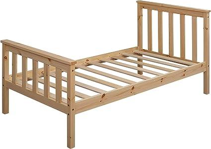 KS-Furniture - Cama infantil (160 x 80 cm, madera de pino ...