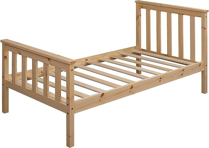 KS-Furniture - Cama infantil (160 x 80 cm, madera de pino, con ...