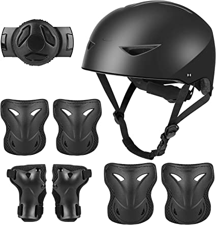 Kid Elbow Knee Safety Roller Protective Gear Pad Cycling Skating Helmet Guard US
