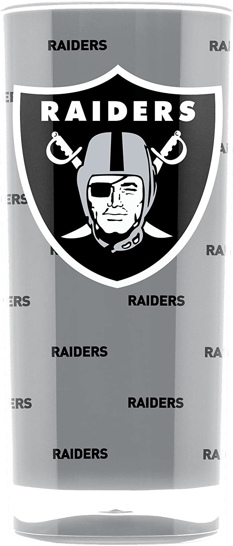 NFL Oakland Raiders 16oz Insulated Acrylic Square Tumbler