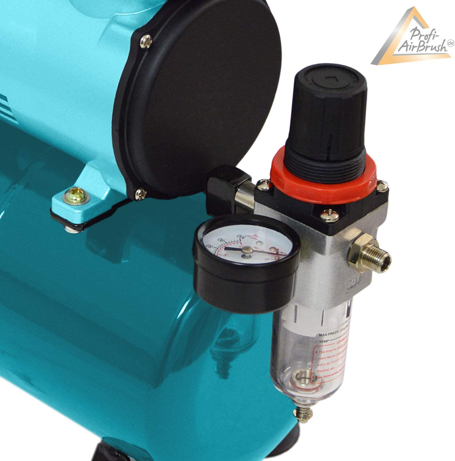 POWERFULL PROFESSIONAL AIRBRUSH COMPRESSOR AIRBRUSHKOMPRESSOR with 2 selectable POWER settings