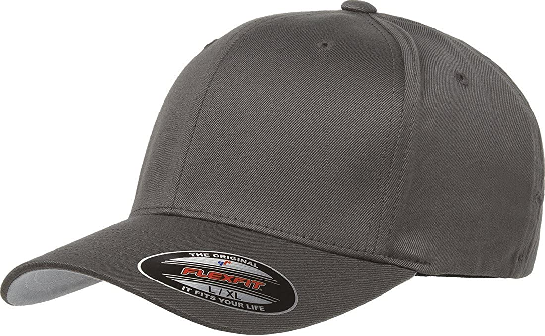 Size S//M Black Plain Flexible Fitted Hat