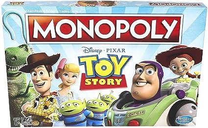 Monopoly Toy Story - Juego de Mesa para Familia y niños Mayores de 8 años: Amazon.es: Juguetes y juegos