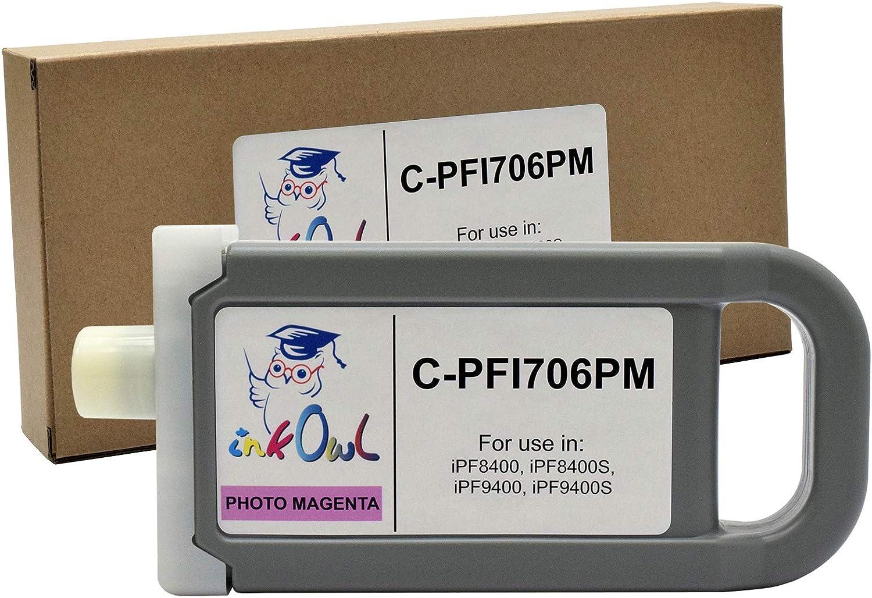 Cartucho De Tinta Para Canon Pfi-706pm Magenta (xam)