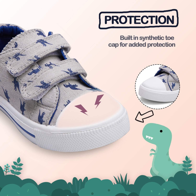 K KomForme Sneakers for Boys and Girls,Toddler Kids Soft Walking Shoes