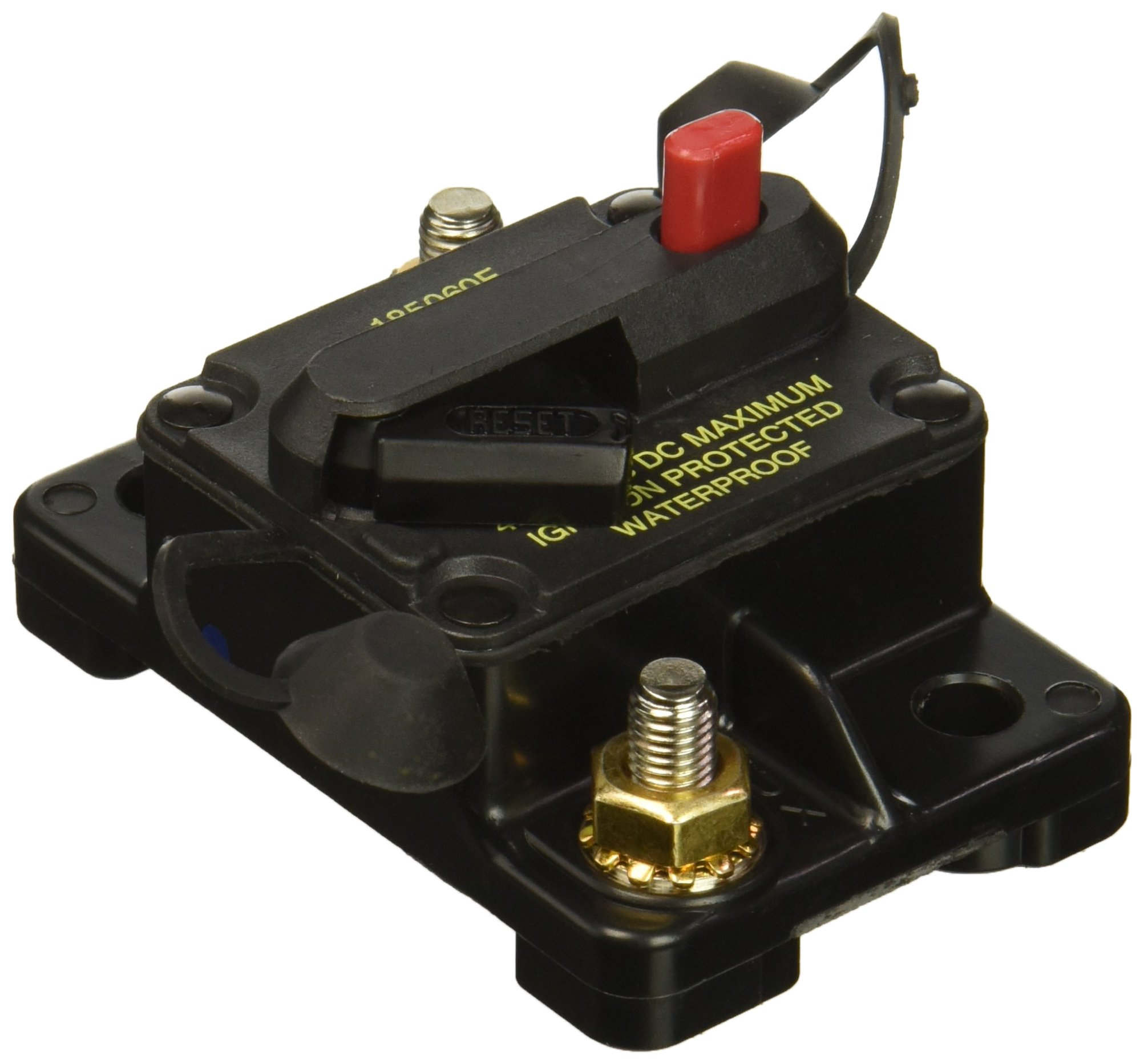 Best Rated In Automotive Replacement Circuit Breaker Switches 71 Vw Type 3 Coil Wiring Diagram Bussmann Cb185 60 Waterproof High Amp Flush Mount Iii