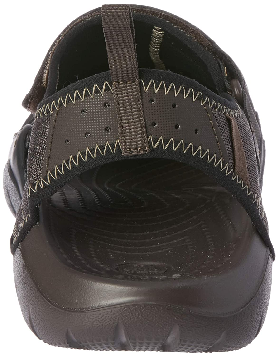 d6053a1e374f crocs Men s Swiftwater Sandal M and Espresso M8 (15041-22Z)  Buy Online at  Low Prices in India - Amazon.in