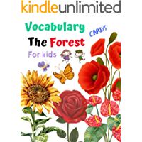 Vocabulary Flash cards Flower-Forest for kids  : Learning & Skill development for Kid and Preschool, it enhances concentration and imagination with real picture (English Edition)