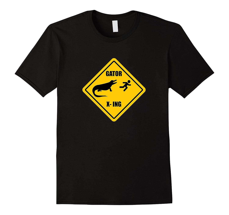 Amazon funny alligator gator crossing sign t shirt clothing buycottarizona