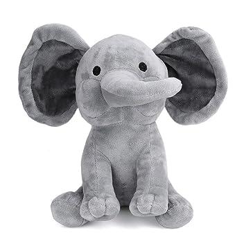 Juguete Suave De La Felpa, Ularma Elefante Lindo Juguete De Peluche Suave Mini Animales De