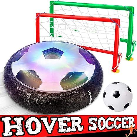 Dreamfun - Juego de balón de fútbol con 2 goles para niños, Pelota ...