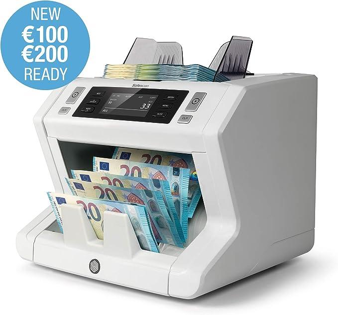 Safescan 2650 - Contadora automática de billetes clasificados. Detección UV, MG y tamaño: Amazon.es: Oficina y papelería