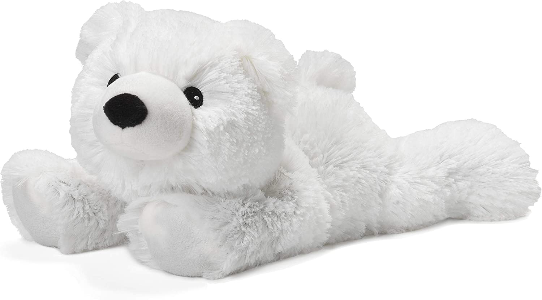Intelex Warmies Microwavable French Lavender Scented Plush, Polar Bear Warmies