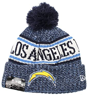 designer fashion ef327 63b3e New Era Los Angeles Chargers NFL On Field 18 Sport Knit Beanie Beany Mütze  at Amazon Men s Clothing store