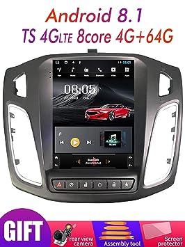 2G RAM Android 9.0 Sistema de Pantalla Vertical Coche GPS ...