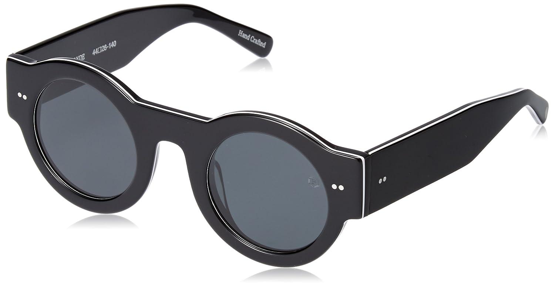 [ブラック フライズ] FLY CLYDE(POL) BF-12824 日本 F (FREE サイズ) BLACK-WHITE-BLACK/GREY POL B07B8SH9SW