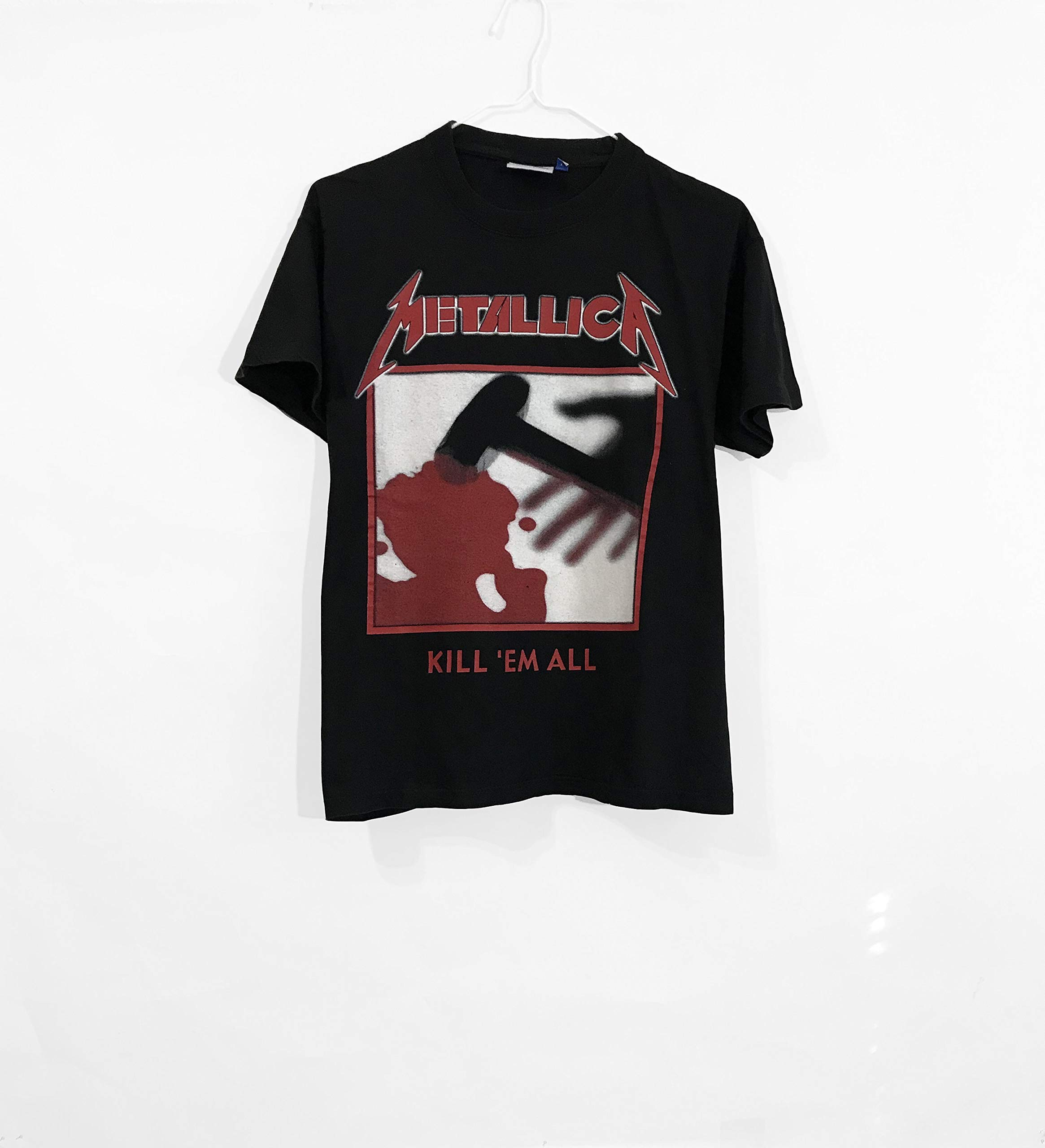 METALLICA RIDE THE LIGHTNING ELECTRIC CHAIR BLACK T-SHIRT NEW OFFICIAL MERCH