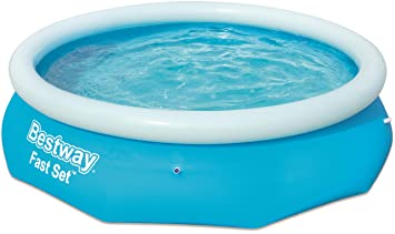 Bestway 57266 Fast Set Pool 305 x 76 cm, sin Bomba, Azul