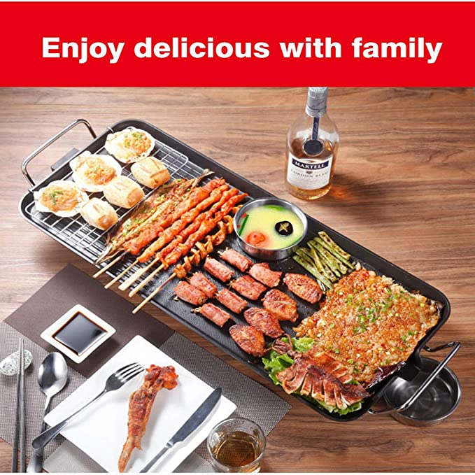 Amazon.com: funwill Electric Grill, Electric Smokeless Grill ...